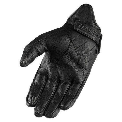 Icon Gloves Icon Pursuit Classic Perforated Motorcycle Gloves