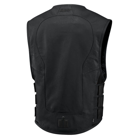 Image of Icon Protective Icon Regulator D3O Stripped Motorcycle Vest