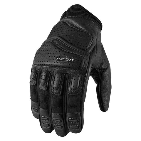 Image of Icon Gloves S / BLACK Icon Superduty 2 Motorcycle Gloves