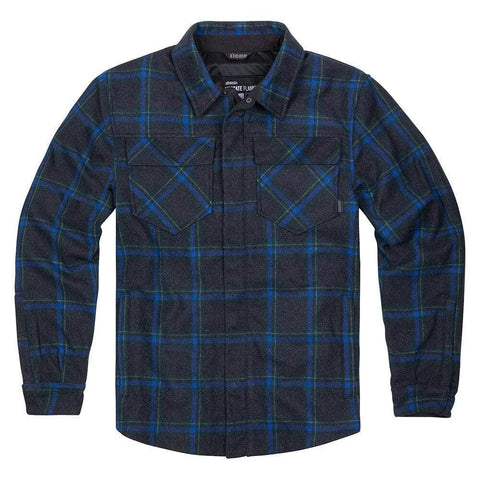 Icon Jackets S / Blue Icon Upstate Riding Flannel