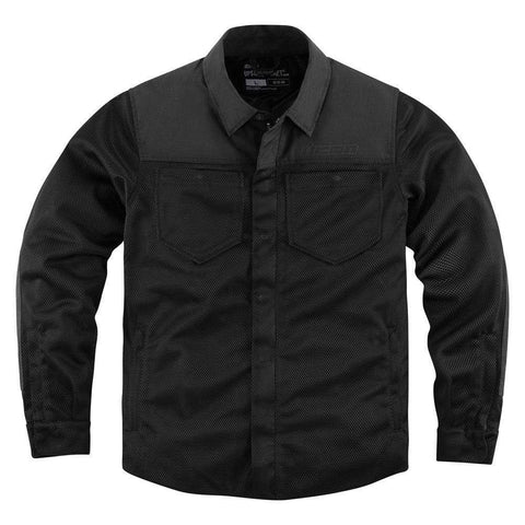 Icon Jackets S / BLACK Icon Upstate Riding Shirt Motorcycle Jacket