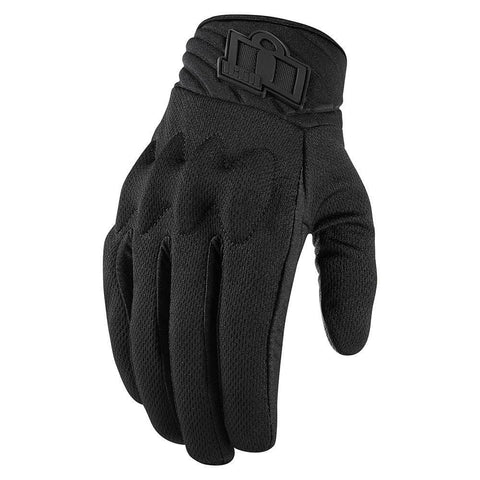 Image of Icon Gloves Icon Anthem 2 Stealth Motorcycle Gloves - Women's