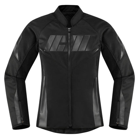 Image of Icon Jacket Icon Hooligan Motorcycle Jacket - Women's