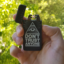 Lighter perfect for every circumstance and it has a world-true phrase printed on a Matte Black base