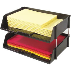 Deflecto Industrial Tray Side Load Stacking Tray