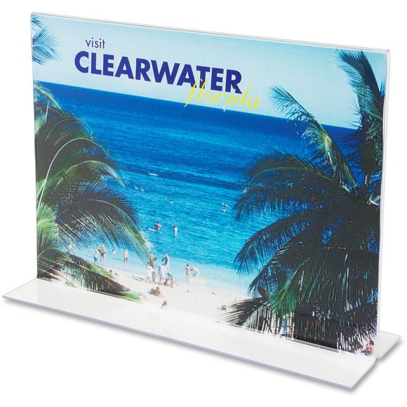 Deflecto Classic Image Double Sided Sign Holder