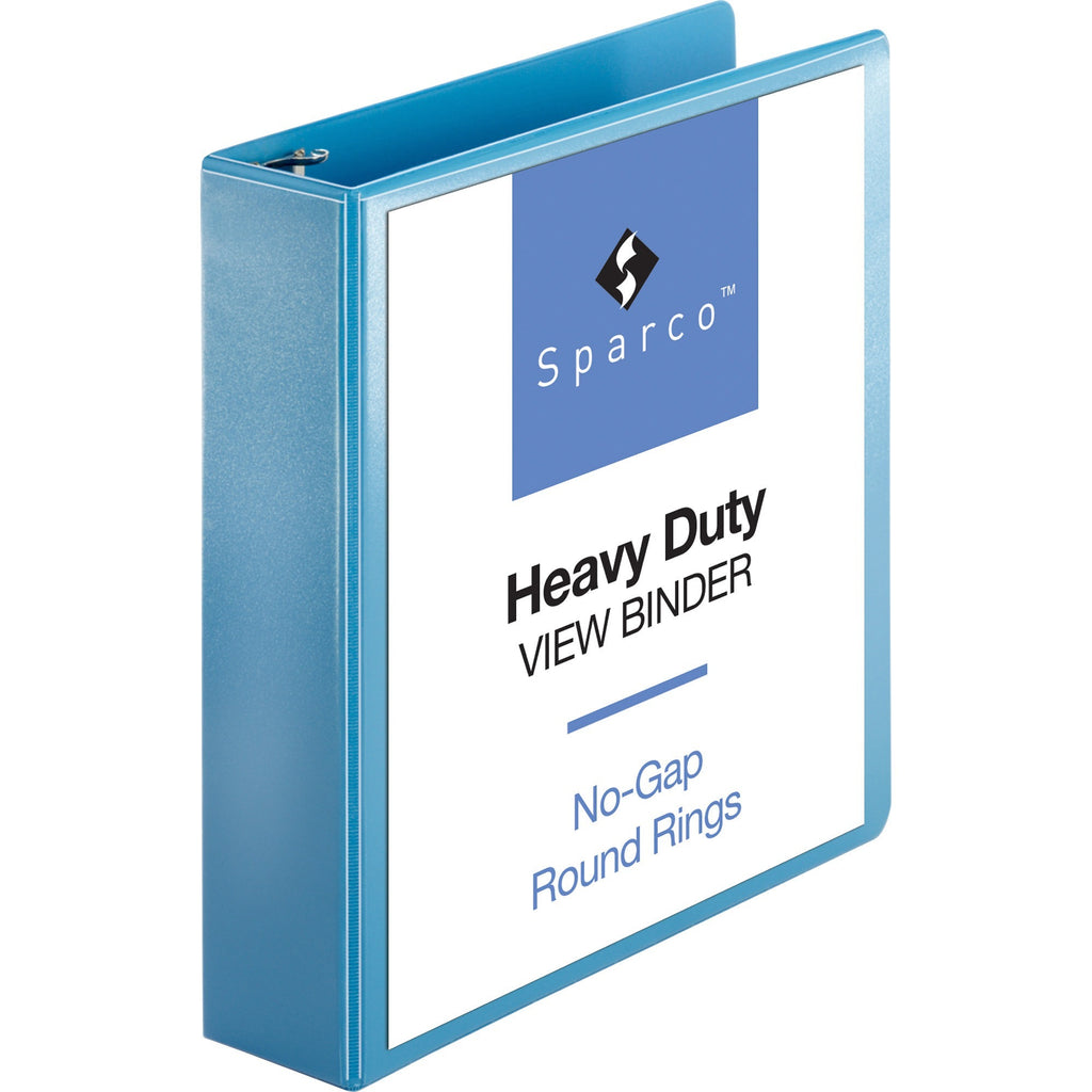 Sparco Premium Round Ring View Binders 2""