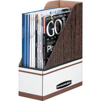 Bankers Box Magazine Files   Oversized Letter