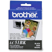 Brother LC 51BKS Original Ink Cartridge - Inkjet - 500 Pages - Black - 1 Each