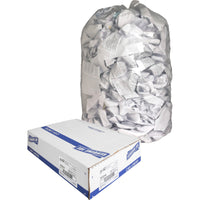 "Genuine Joe Clear Trash Can Liners - Extra Large Size - 227.12 L - 38"" (965.20 mm) Width x 58"" (1473.20 mm) Length x 0.80 mil (20 Micron) Thickness - Low Density - Clear - Film - 100/Box - Multipurpose"