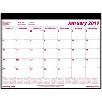Brownline Monthly Desk Calendar Refill
