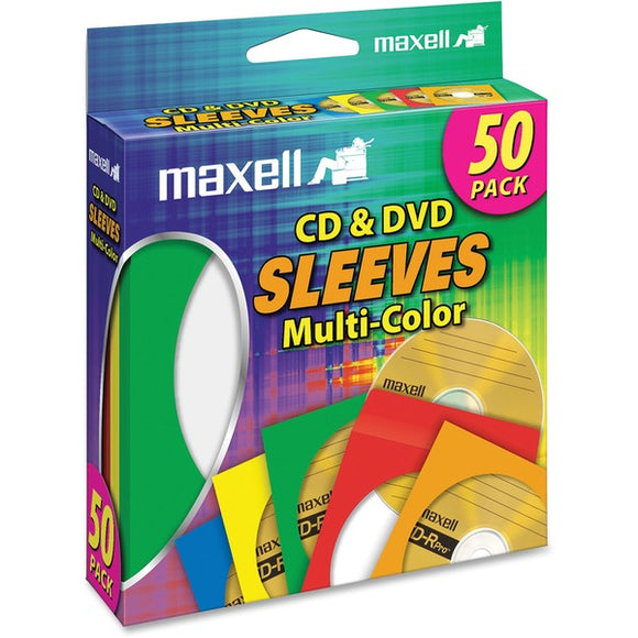 Maxell CD 401 Multi Color CD & DVD Sleeve