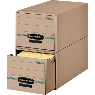 Bankers Box Recycled Stor Drawer   Letter 6PK
