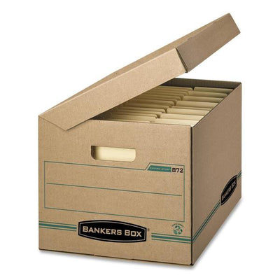 Fellowes Flip Top Attached Lid File Box