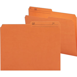 Smead Colored Top Tab File Folder