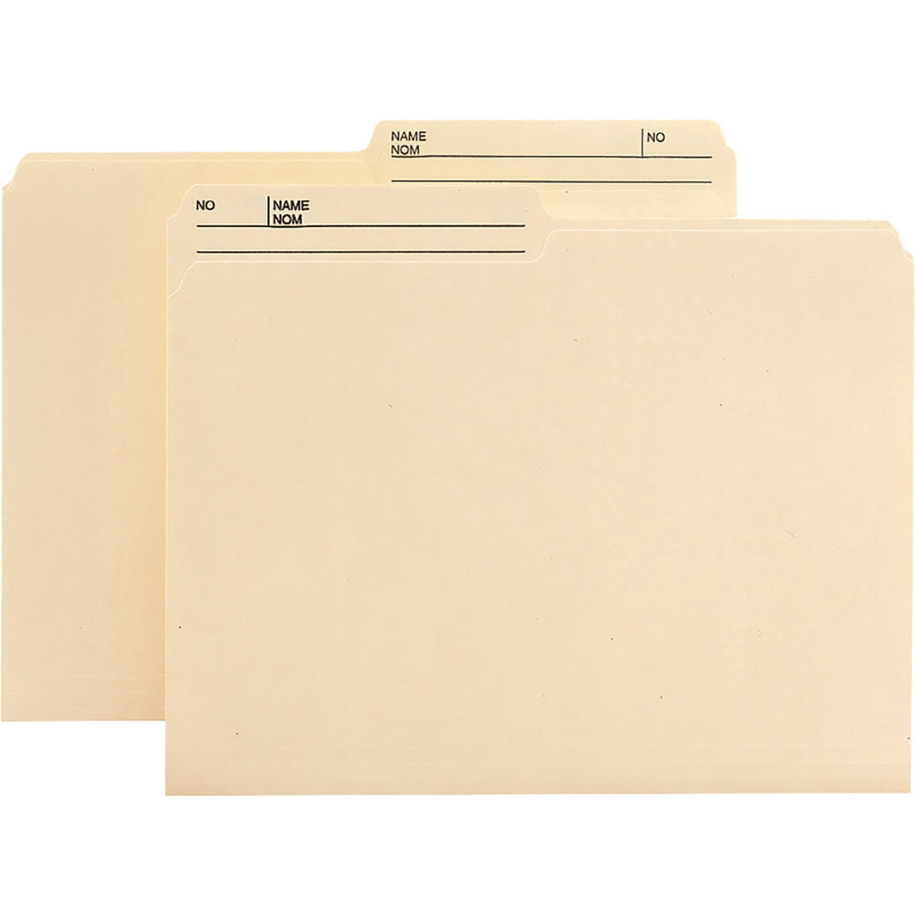 Smead Top Tab File Folder Letter Size 100PK