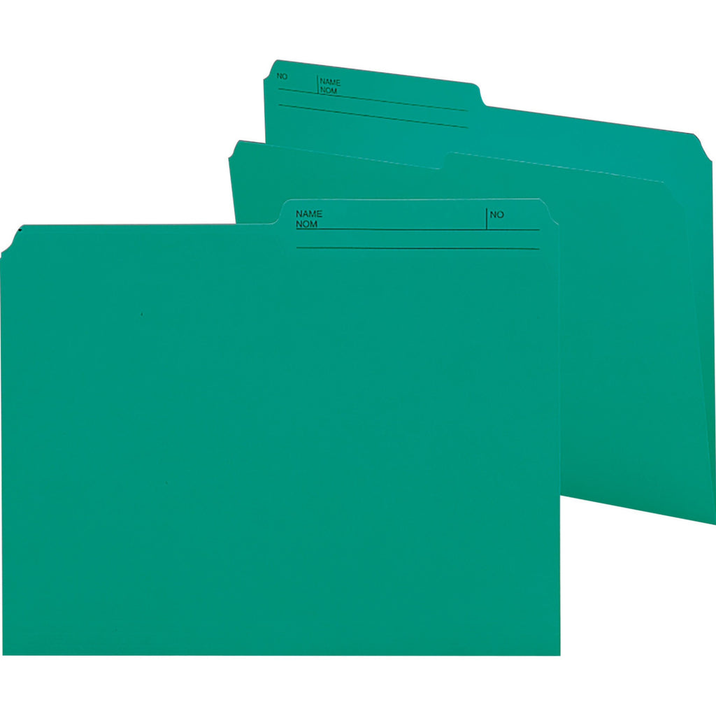 Smead Colored Top Tab File Folder Letter Size 100PK