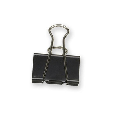 Acme United Sure Grip Triangular Fold Back Binder Clip 12PK 1.65