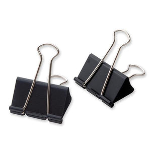 "Acme United Sure Grip Triangular Fold Back Binder Clip 2"" 12PK"