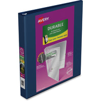 "Avery Durable View Slant D Presentation Binder 1"" Binder Capacity Navy"