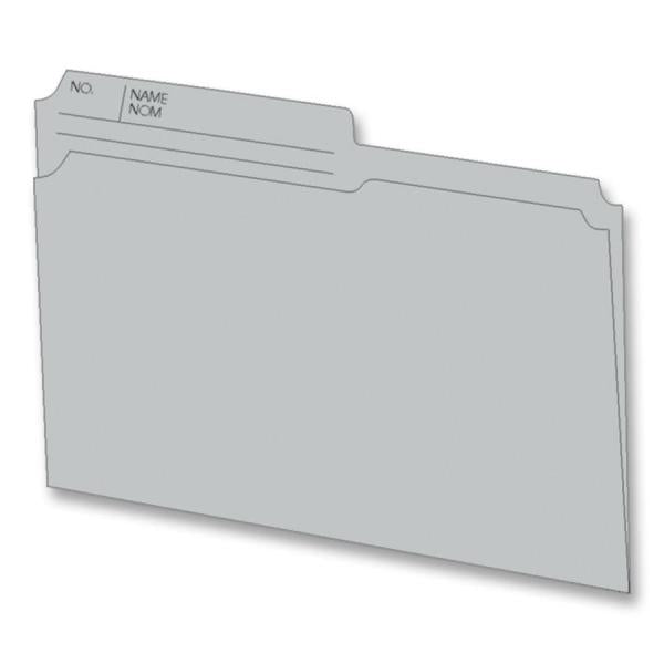 Hilroy Reversible Letter Size File Folder 100PK