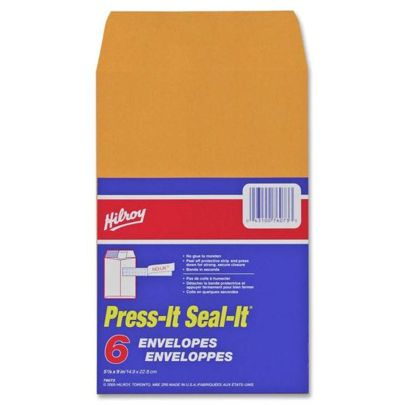 Hilroy Press It Seal It Self Adhesive Envelope