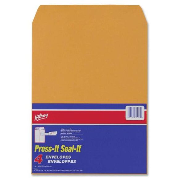 Hilroy Press It Seal It Self Adhesive Envelopes