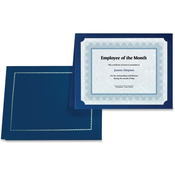 First Base 83434 Certificate Holder with Gold Folio