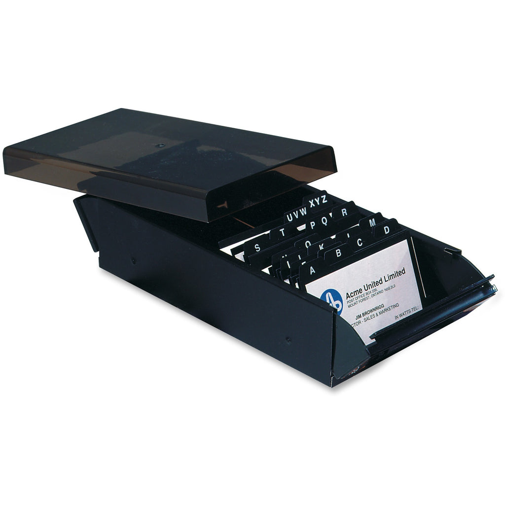 Acme United Business Card Files 600 Capacity