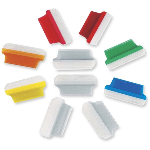 Oxford Self Adhesive Shield Tab - Assorted Tab(s) - 10 / Pack
