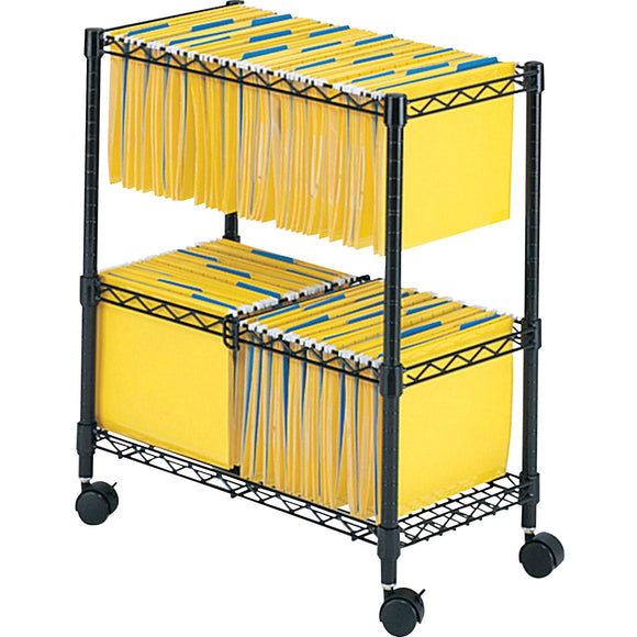 Safco 2 Tier Rolling File Cart