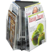 Safco Reveal 2 tier Tabletop Magazine Display