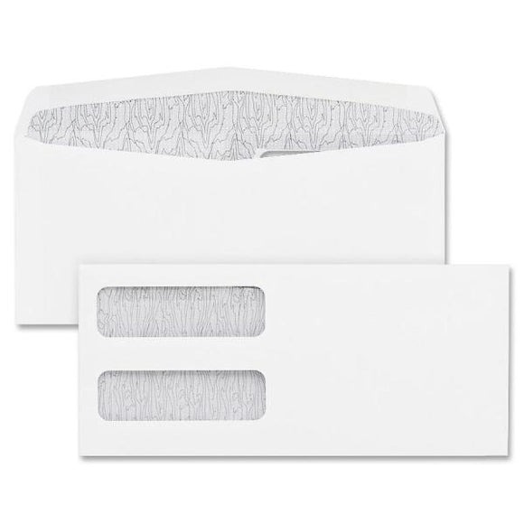 Blueline Double Window Envelopes