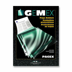 Gemex Top loading Page Protectors
