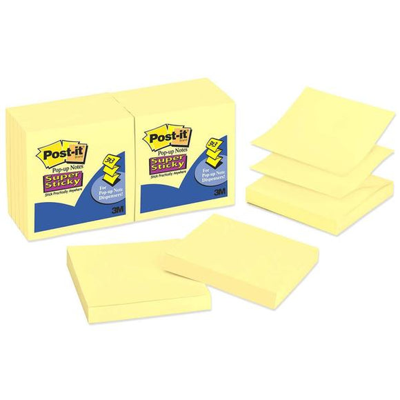 Post it Pop up Super Sticky Notes Refill