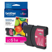 Brother LC 61 Original Ink Cartridge - Inkjet - 325 Pages - Magenta - 1 Each