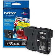 Brother LC 65 HY BKS Original Ink Cartridge - Inkjet - 900 Pages - Black High Yield - 1 Each