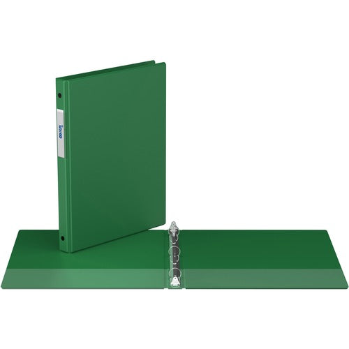 "Davis Round Ring Commercial Binder - 1/2"" - Green"