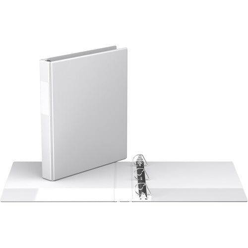 "Davis D Ring Commercial Binder - 1"" - White"