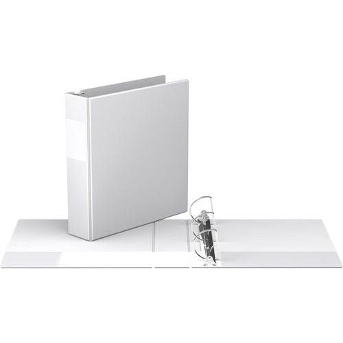 "Davis Angle-D Ring Commercial Binder - 2"" - White"