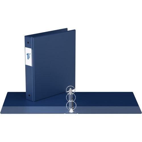 "Davis Round Ring Commercial Binder - 1 1/2"" - Blue"