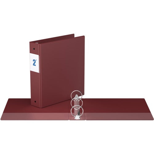 "Davis Round Ring Commercial Binder - 2"" - Maroon"