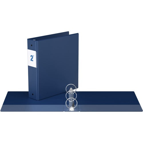 "Davis Round Ring Commercial Binder - 2"" -Blue"