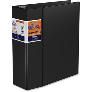 QuickFit QuickFit Locking Round Ring Deluxe Commercial Binder 4""