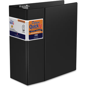 QuickFit QuickFit Locking Round Ring Deluxe Commercial Binder 5""