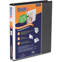 QuickFit QuickFit Angle D ring View Binder 1""