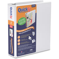 QuickFit QuickFit Angle D ring View Binder 2""