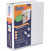QuickFit QuickFit Round Ring View Binder 2""