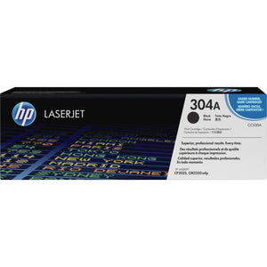 HP 304A Original Toner Cartridge - Single Pack - Laser - Standard Yield - 3500 Pages - Black - 1 Each