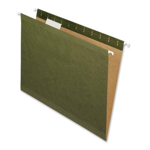 Nature Saver Recycled Green Hanging File Folders